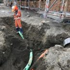Large Cable in Trench